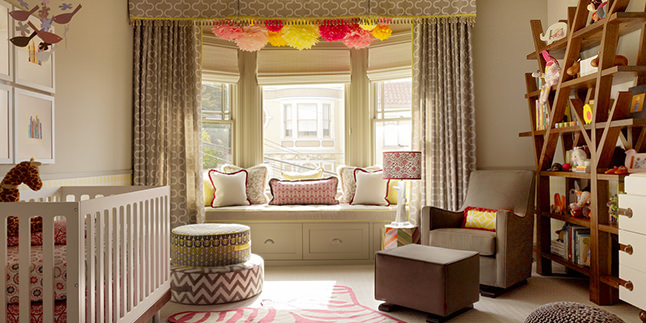 En İyi Renk Uyumuna Sahip 25 Bebek Odası