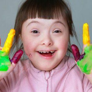 Down Sendromlu Çocuklar
